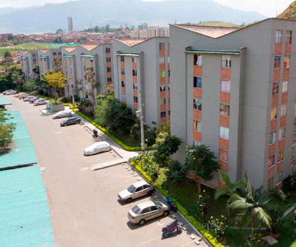 Proyectos de vivienda sobre planos de interés social y no VIS en Bello, Antioquia