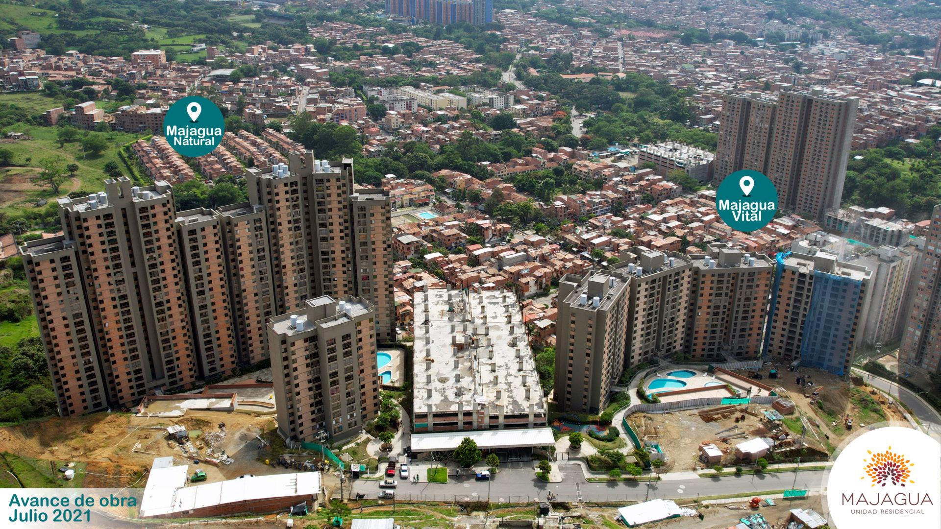 Avance de obra Majagua - Majagua, Venta de Apartamentos y Apartaestudios en Bello, Antioquia